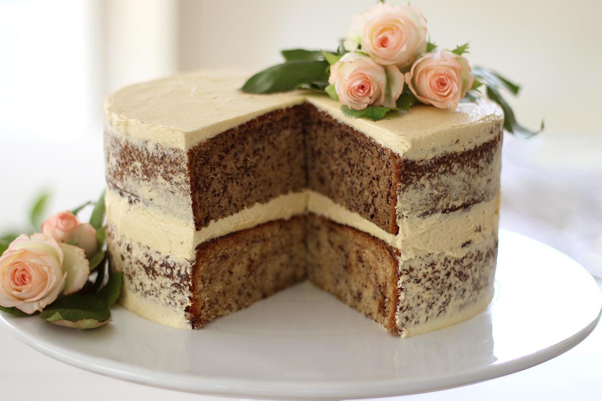 Banana Cake Recipe With Brown Sugar Buttercream Recipes By Carina